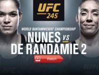 UFC 245: Amanda Nunes vs. Germaine de Randamie